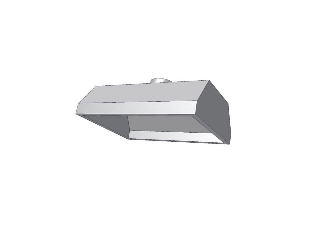 10412 digestor zavesna bez filtru 2400x900mm kdvz1b
