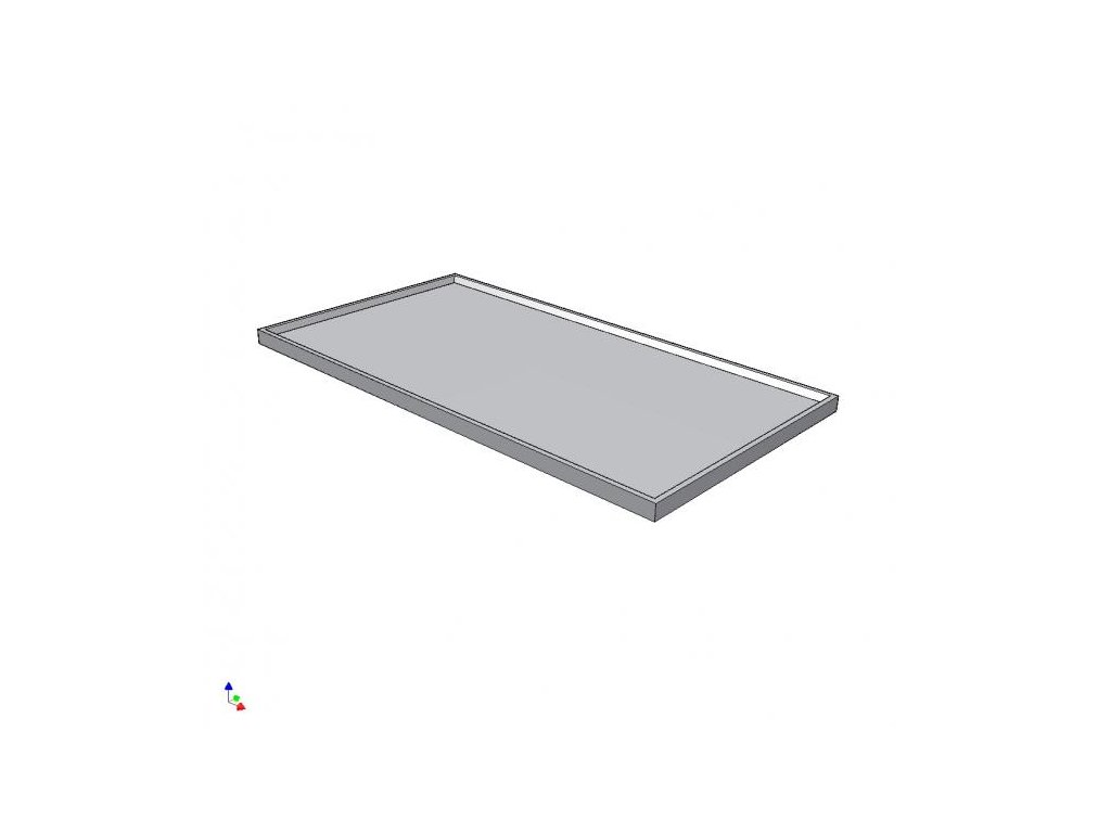 8219 pracovni deska prolomena 800x900mm