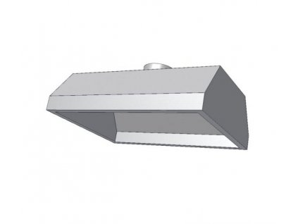 10385 digestor zavesna bez filtru 1800x800mm kdvz1b