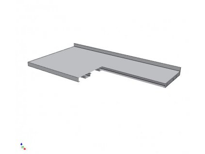 8102 pracovni deska vyztuzena 700x1000mm
