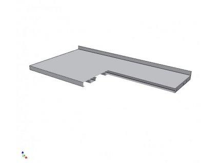 8132 pracovni deska vyztuzena 800x1000mm