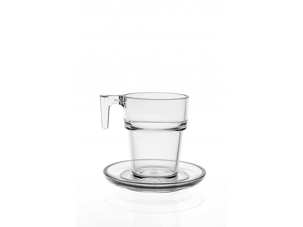 Set 3. Caffe latte 216ml / 6ks čirá