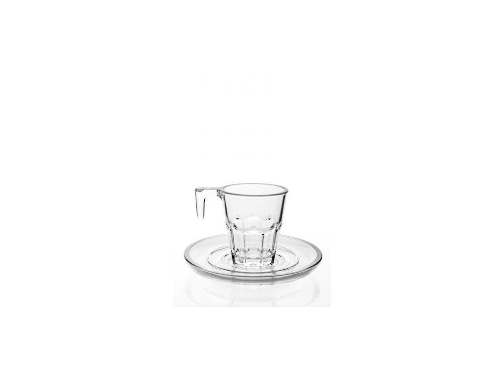 Set 5. TF Espresso 74ml / 6ks čirá