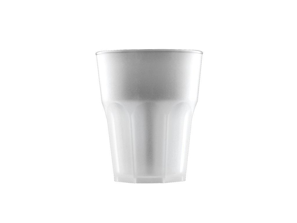 Nerozbitná sklenice DD PP Roy 290ml bílá 1