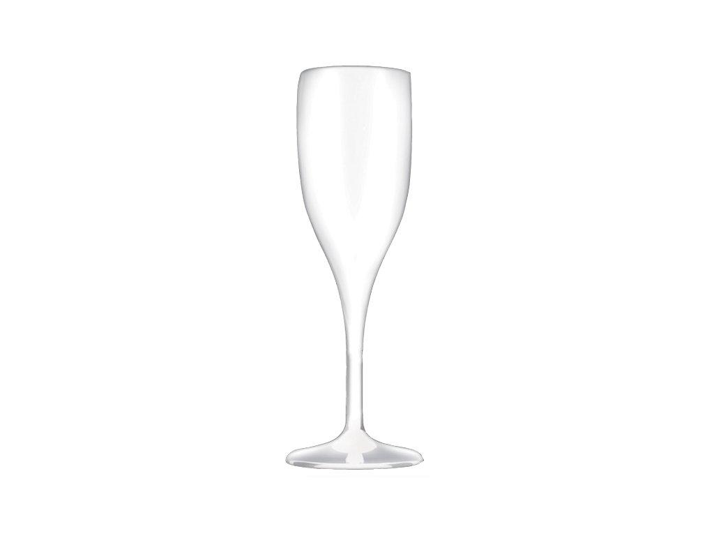 Nerozbitná sklenice Flute XC 15 cl čirá šampus a prosecco