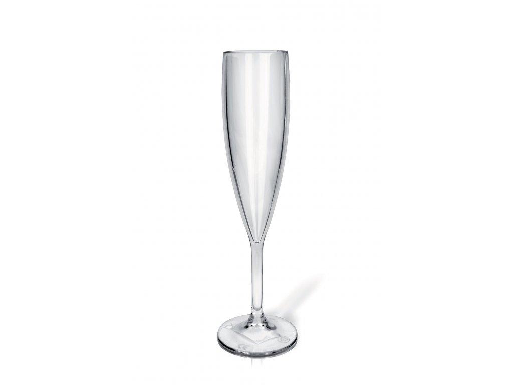 Nerozbitná sklenice Flute 9 cl šampus a prosecco