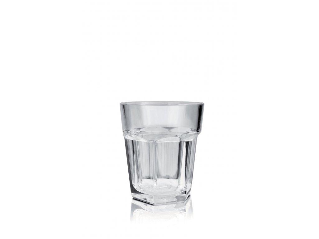 Nerozbitná sklenice Shot Tumbler Facet 4 cl