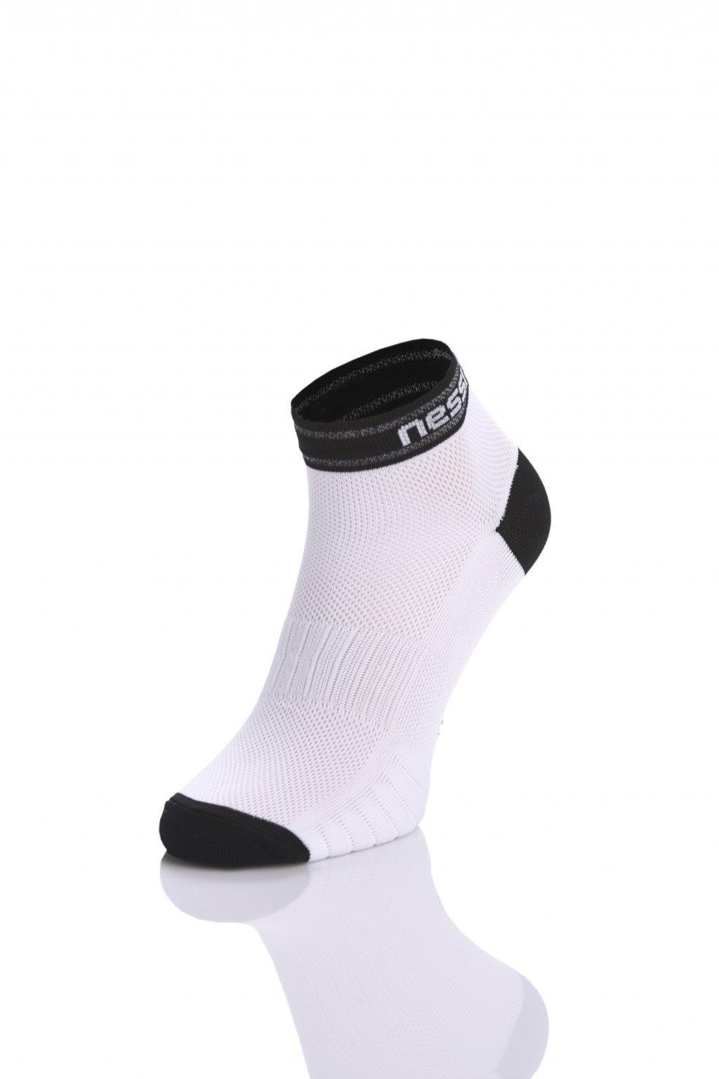Prodyšné běžecké ponožky Road R RSO-1 White