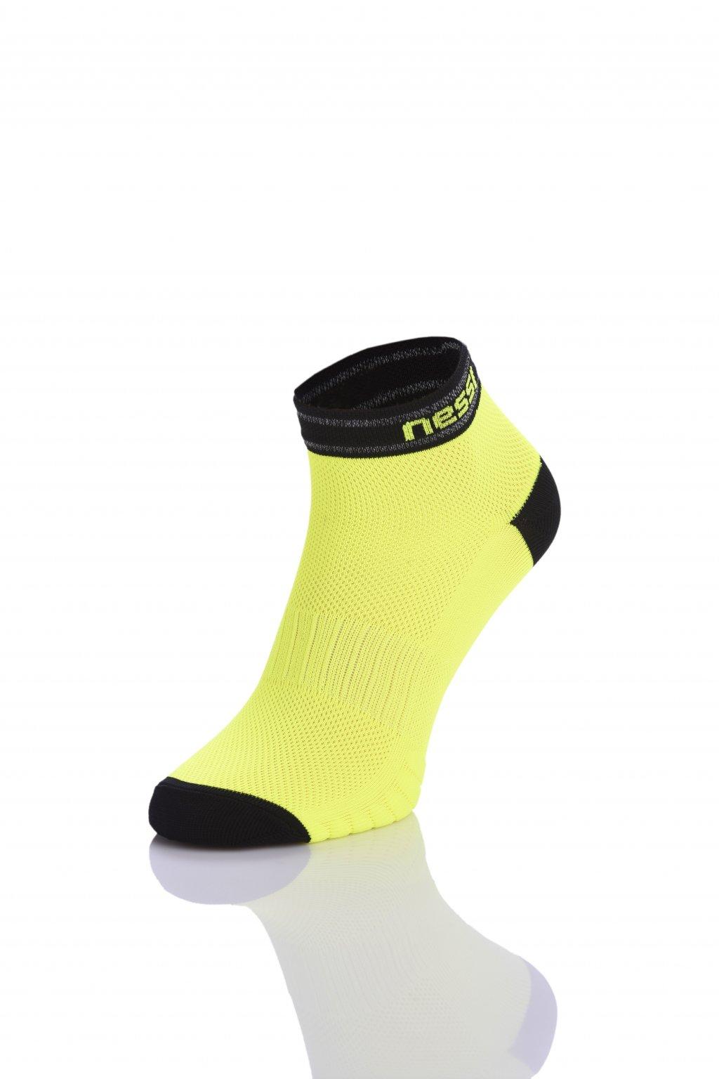 Prodyšné běžecké ponožky Road R RSO-2 Yellow