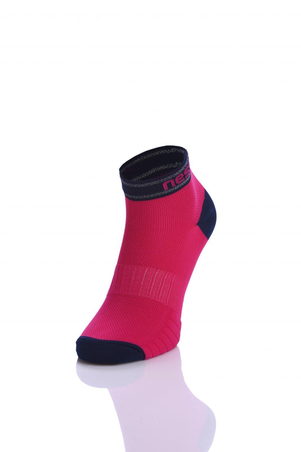 Běžecké ponožky RSO-5 - Růžová