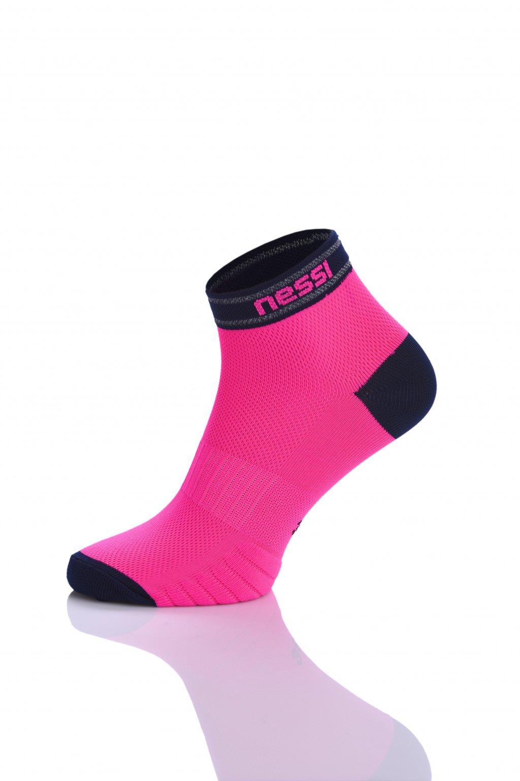 Prodyšné běžecké ponožky Road R RSO-5N Light Pink