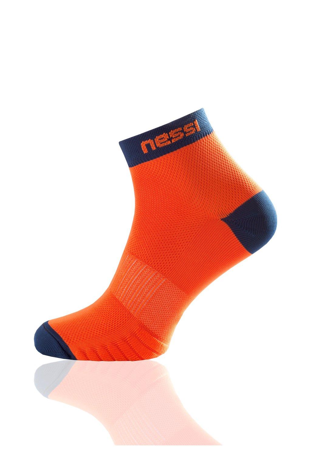 c60aa3be120 Běžecké ponožky RSN-3 - Oranžová - Nessi Sportswear