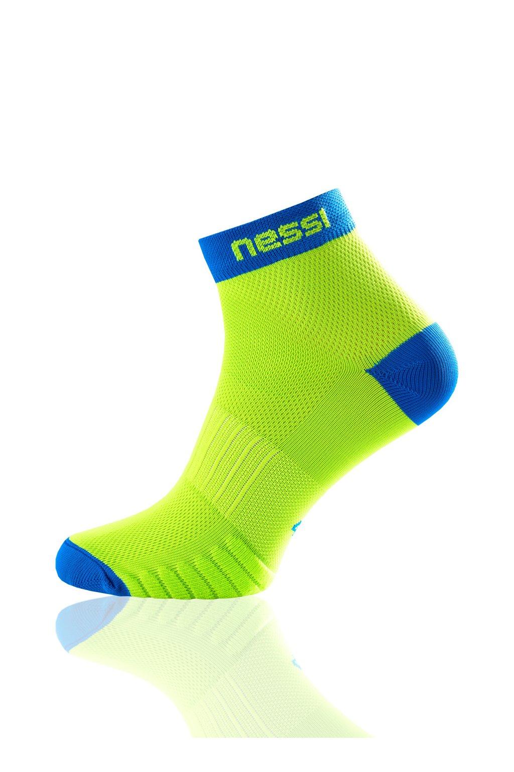 cecd58d05f8 Běžecké ponožky RSN-4 - Zelená - Nessi Sportswear