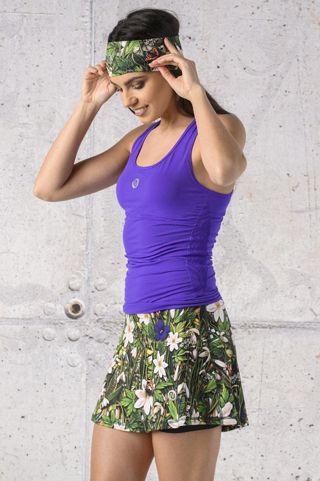 Sportovní top ultra light DFU59 - Purple