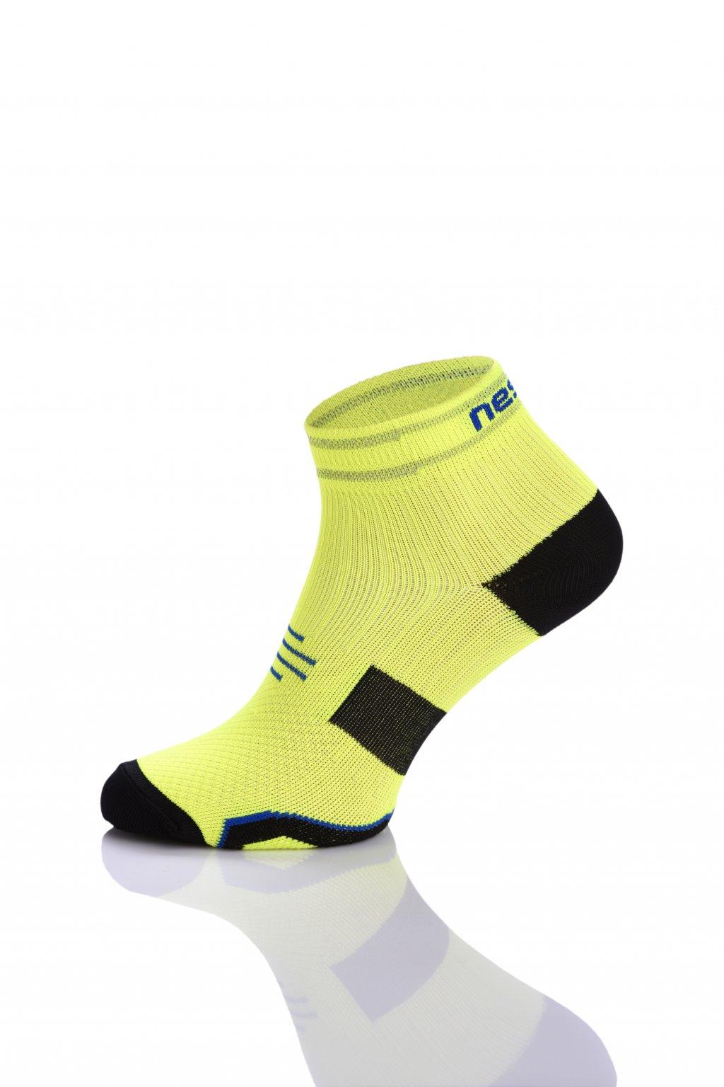 Běžecké ponožky PRO maraton RMO-2 - Žlutá