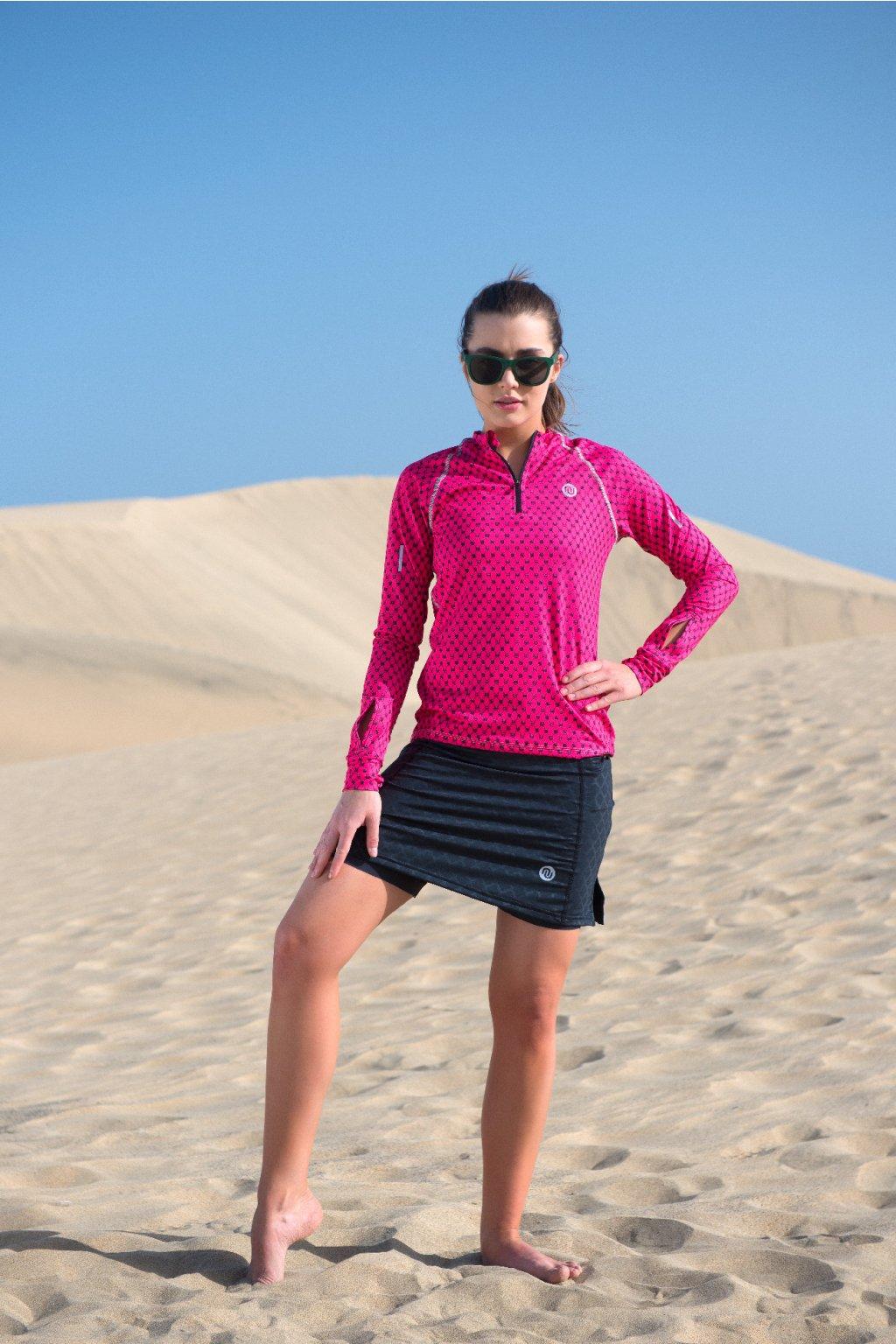 Sportovní sukně SRDG-90 - Shiny Black