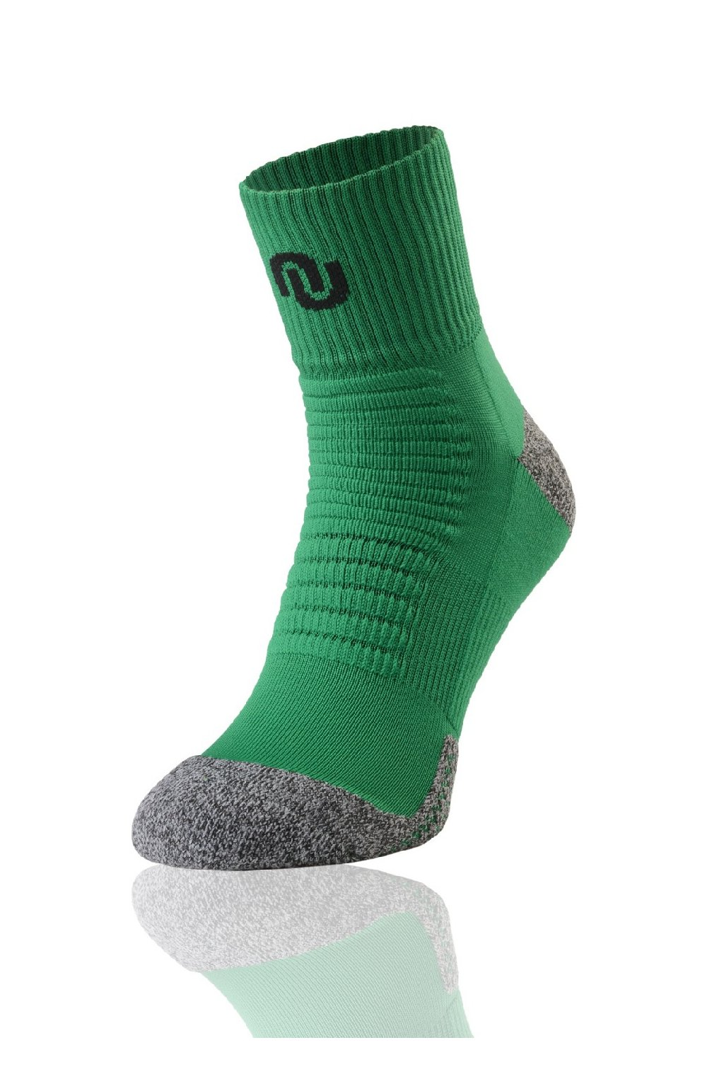 Termoaktivní Ponožky Trail U Ultrarun pro SU-7 - Zeleno-šedá