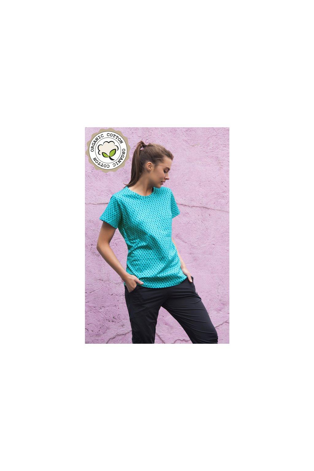 Tričko ze 100% Bio Bavlny TBF 9G6