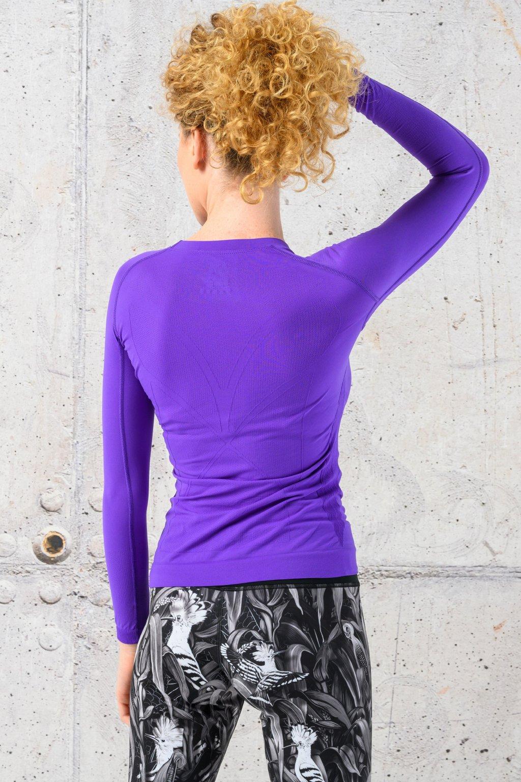 ultra light Triko s dlouhým rukávem purple bld 59 1