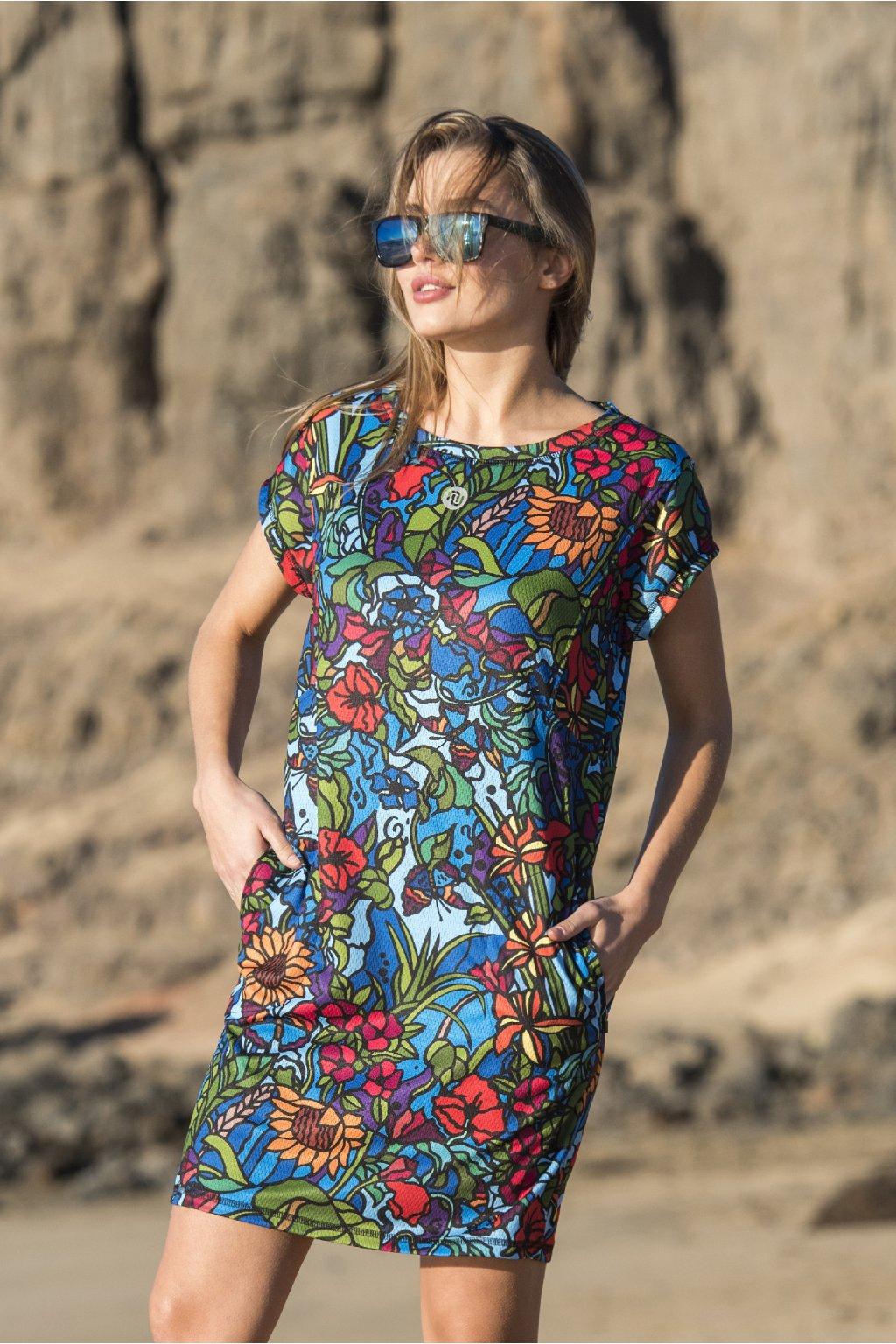 Letní šaty mosaic flora oss2 11m4 1