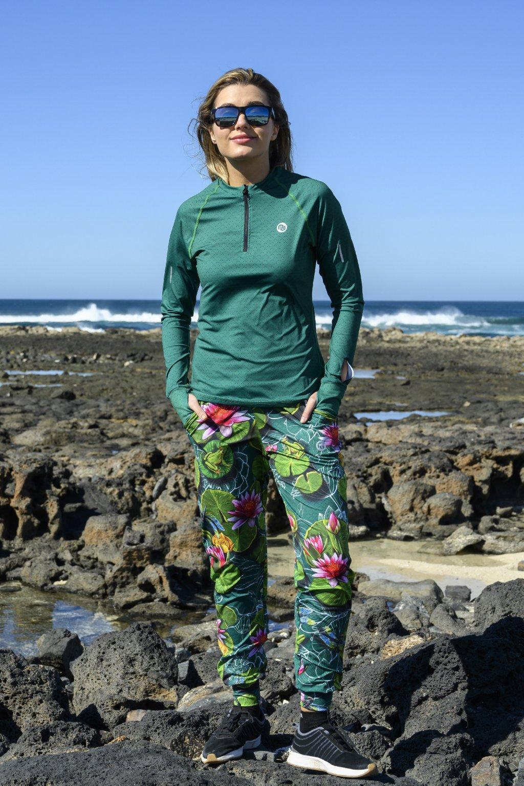 Volné sportovní kalhoty lily pond sddc 11z1 1