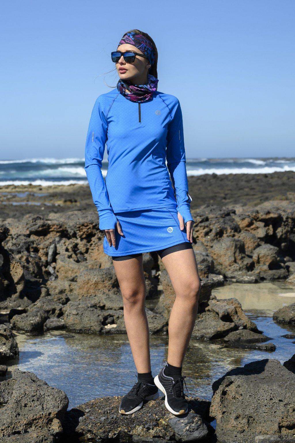 Běžecká sukně blue mirage srdgl 11x7 1