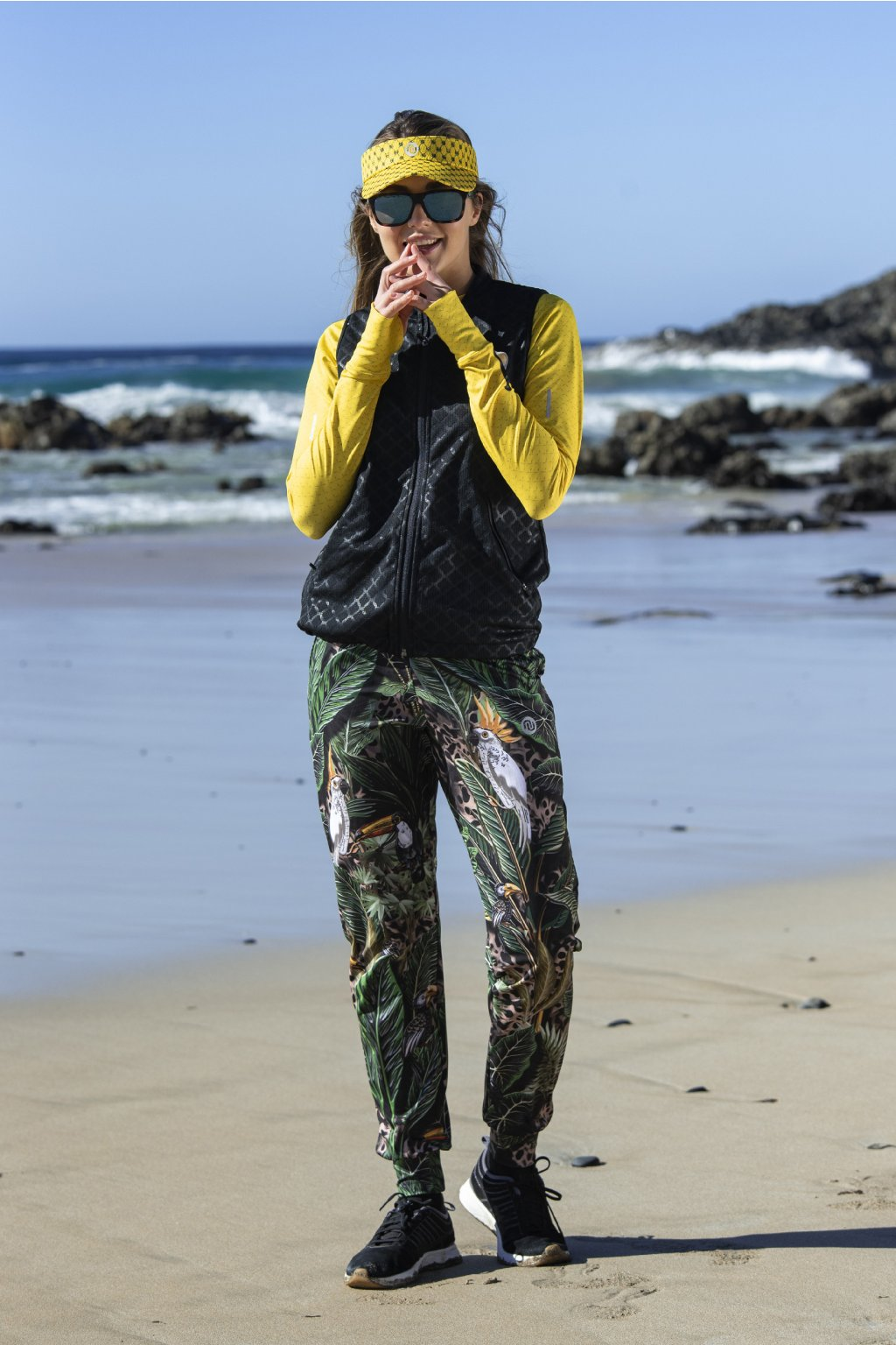 Volné sportovní kalhoty selva sand sddc 11t1 1