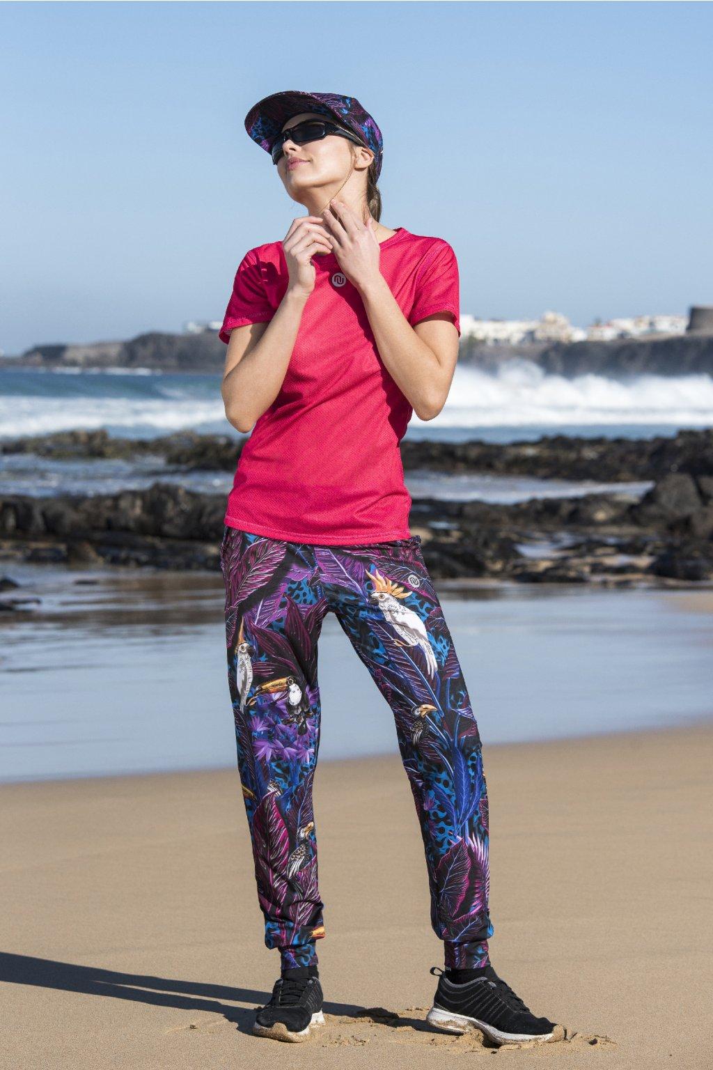 Volné sportovní kalhoty selva blue sddc 11t3 1