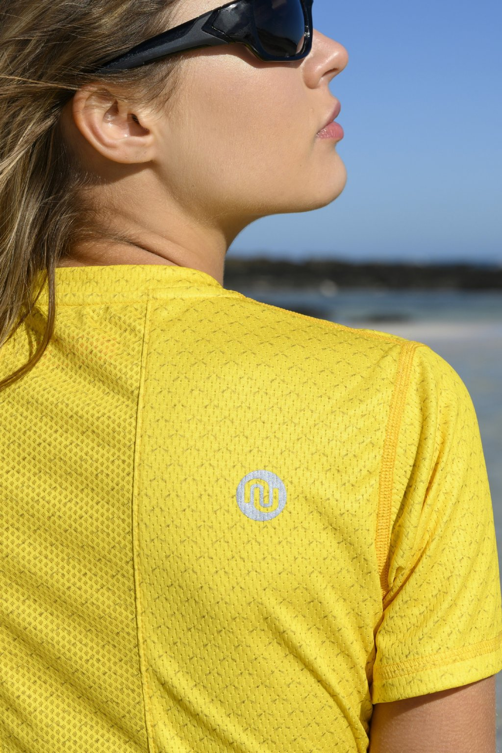 Běžecké tričko yellow mirage ksb 11x1 1