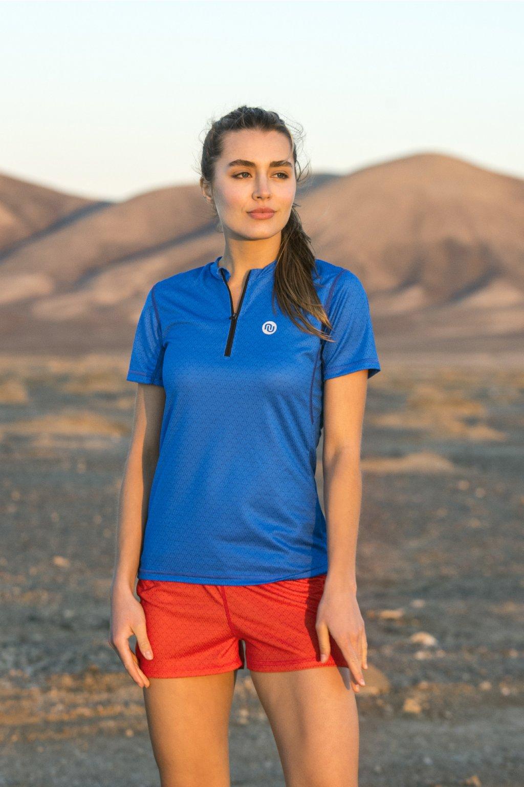 Běžecké tričko blue mirage ksb 11x7 1