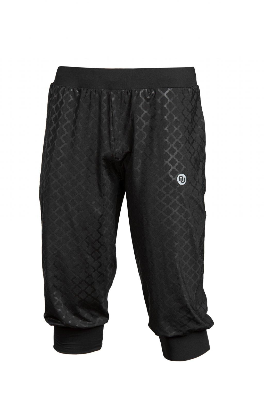 Volné kalhoty 3 4 shiny black sdmc3 90T 1