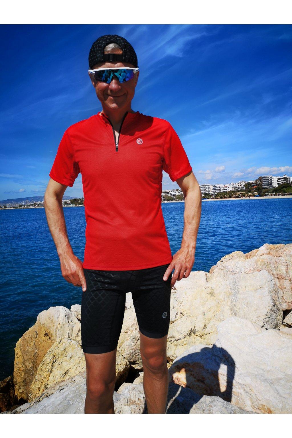 Pánské běžecké triko red mirage kmb 11x4 1