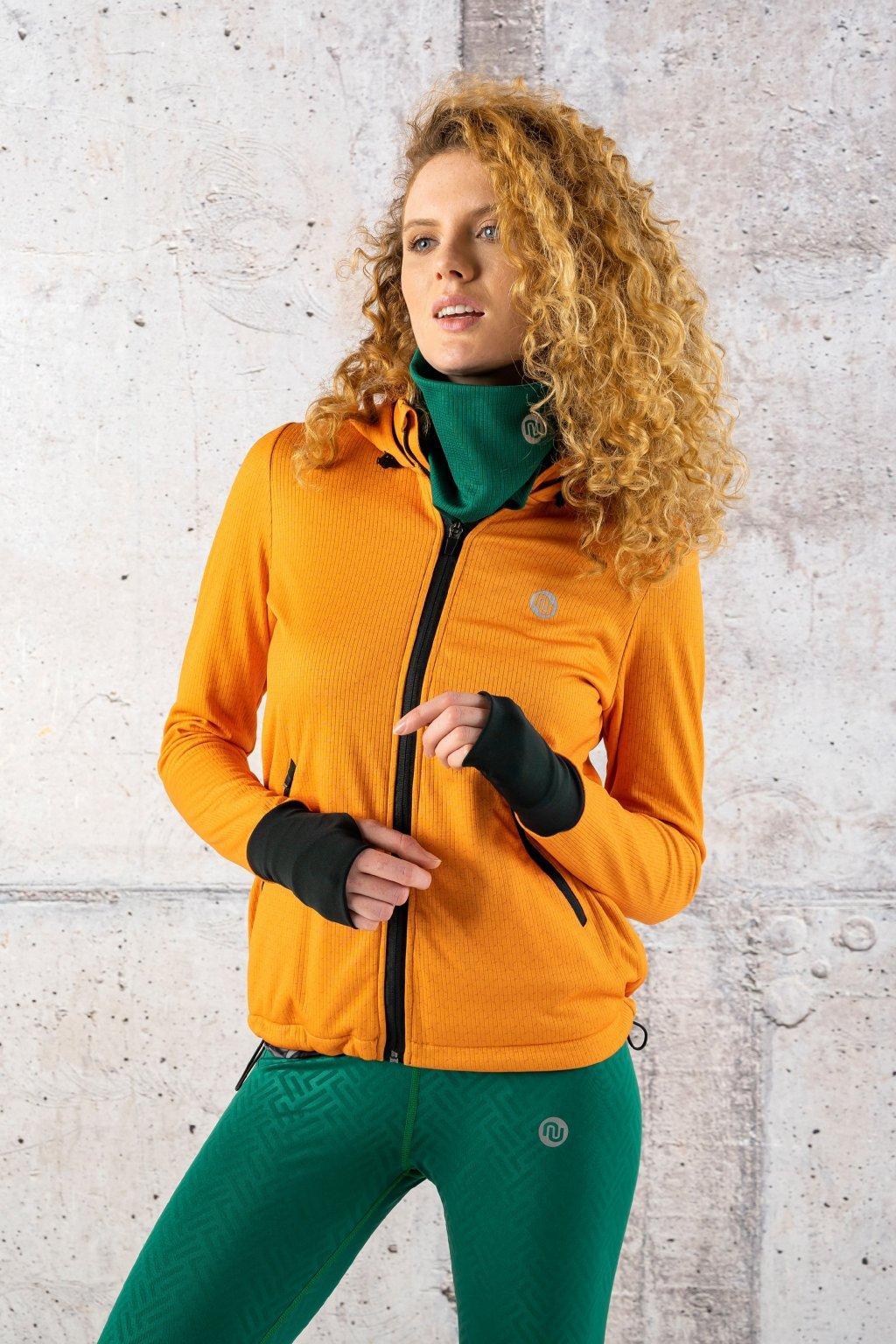 běžecká bunda orange mirage hrdk 11X3 1