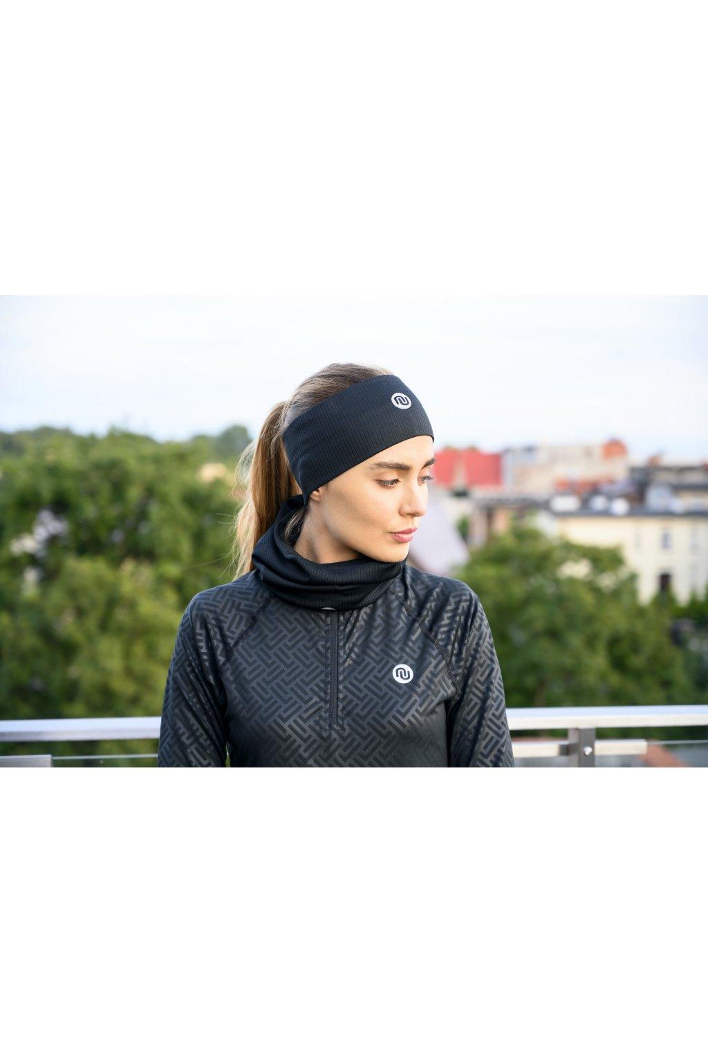 Sportovní Termoaktivní nákrčnik AB2-90 - Black