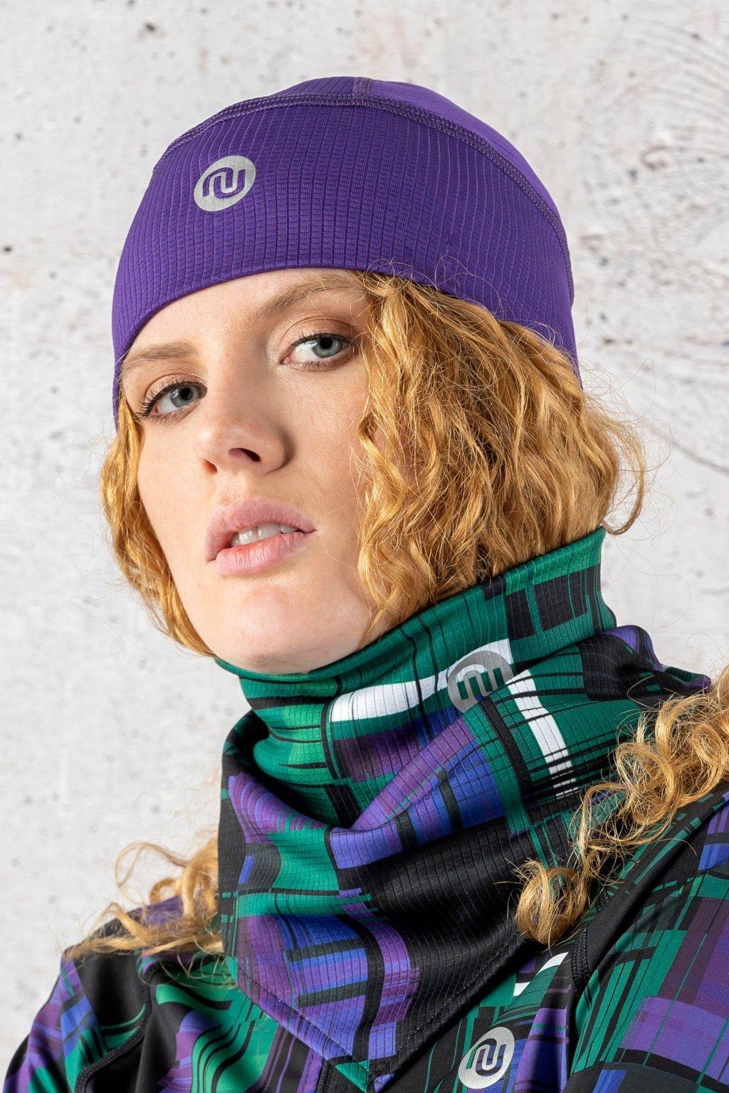 čepice purple acz 60f 1