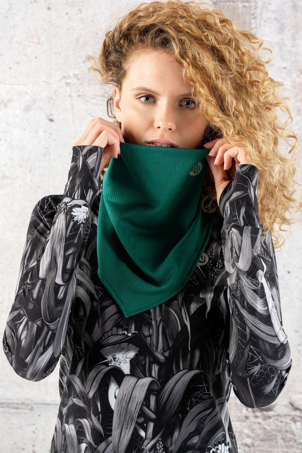 Tojcípý šátek green atk 50f 1