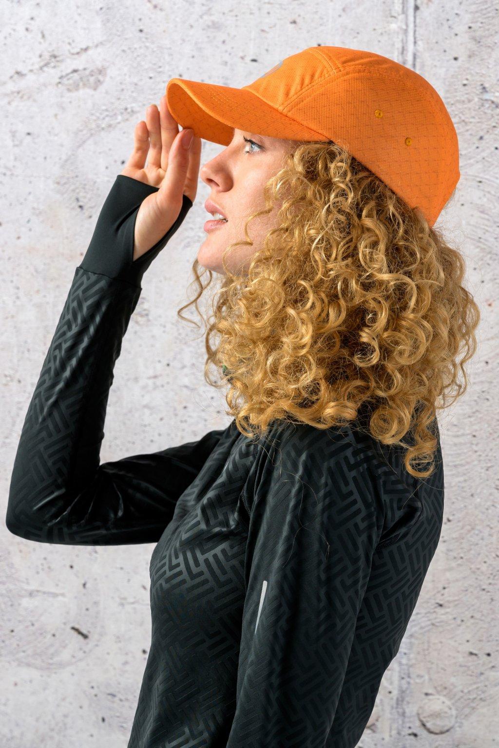 nepromokavá kšiltovka orange mirage cmb 11x3 1