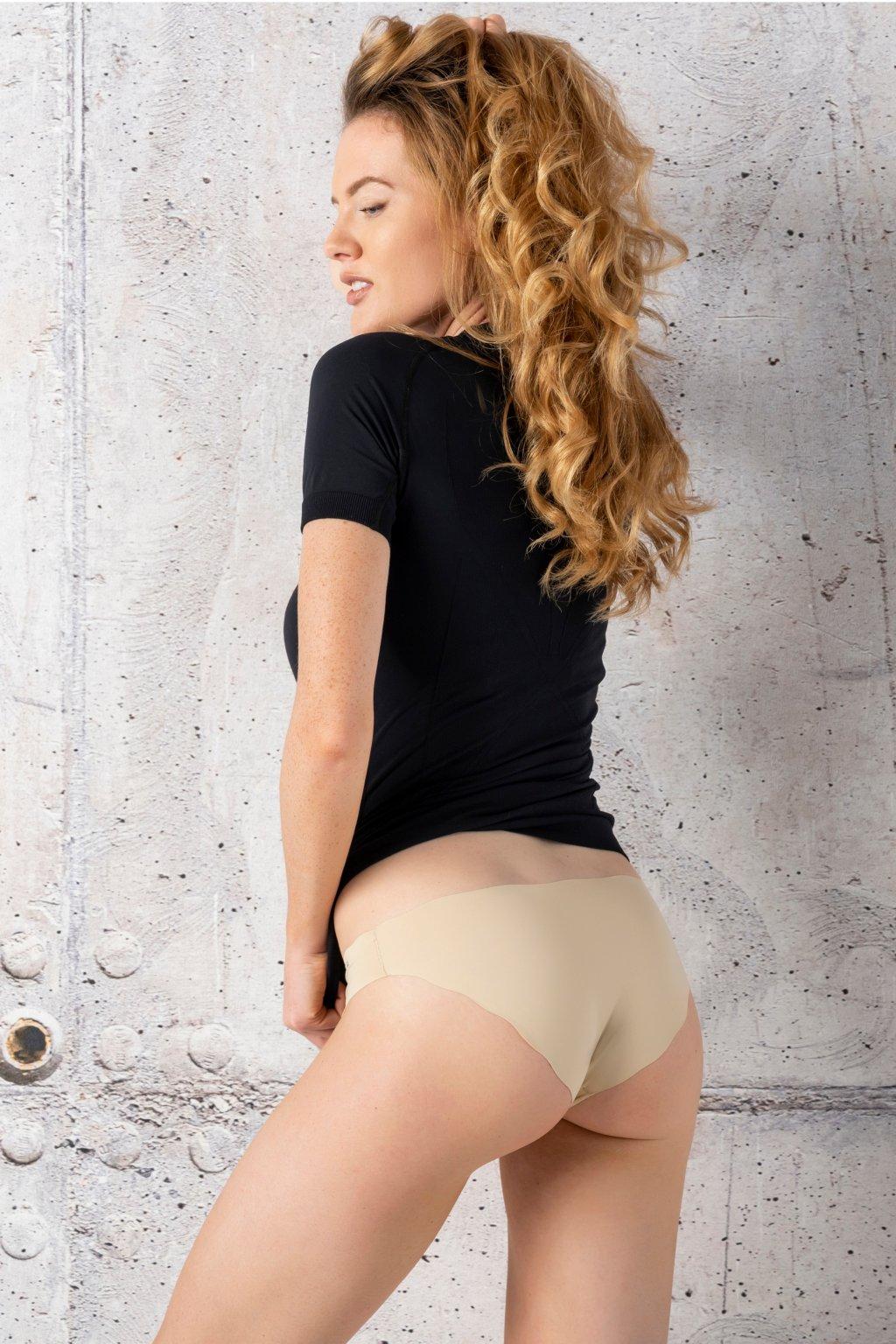 kalhotky brazilky beige ftd 11 1