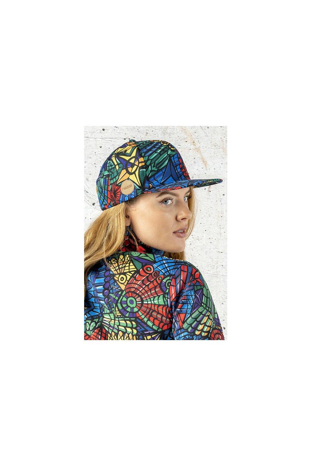 Kšiltovka Snapback Mosaic Lumo ACDL 12M4 1