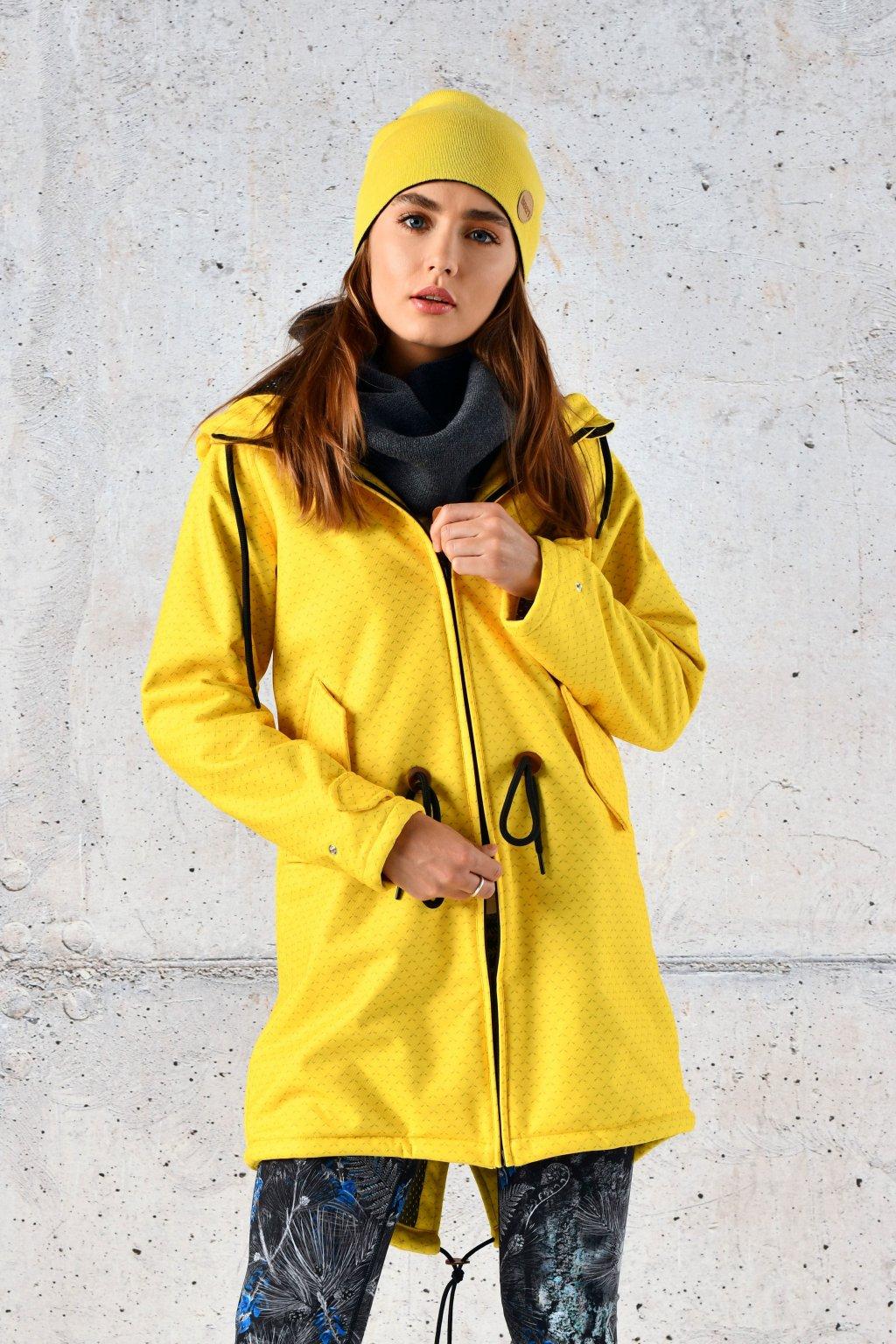parka s membránou yellow mirage prsl 11x1 1