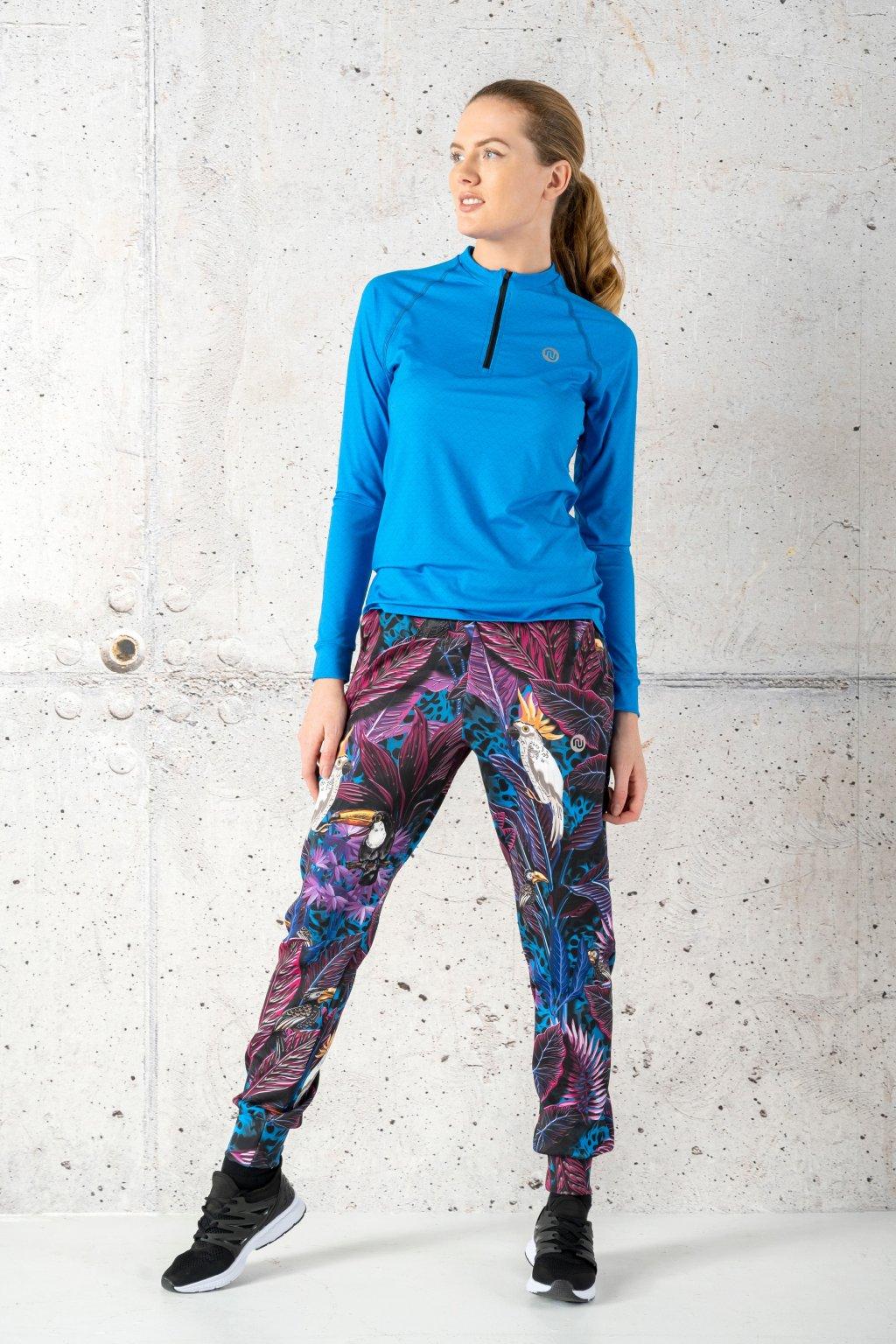 Volné sportovní kalhoty selva blue sdwn 11t3 1