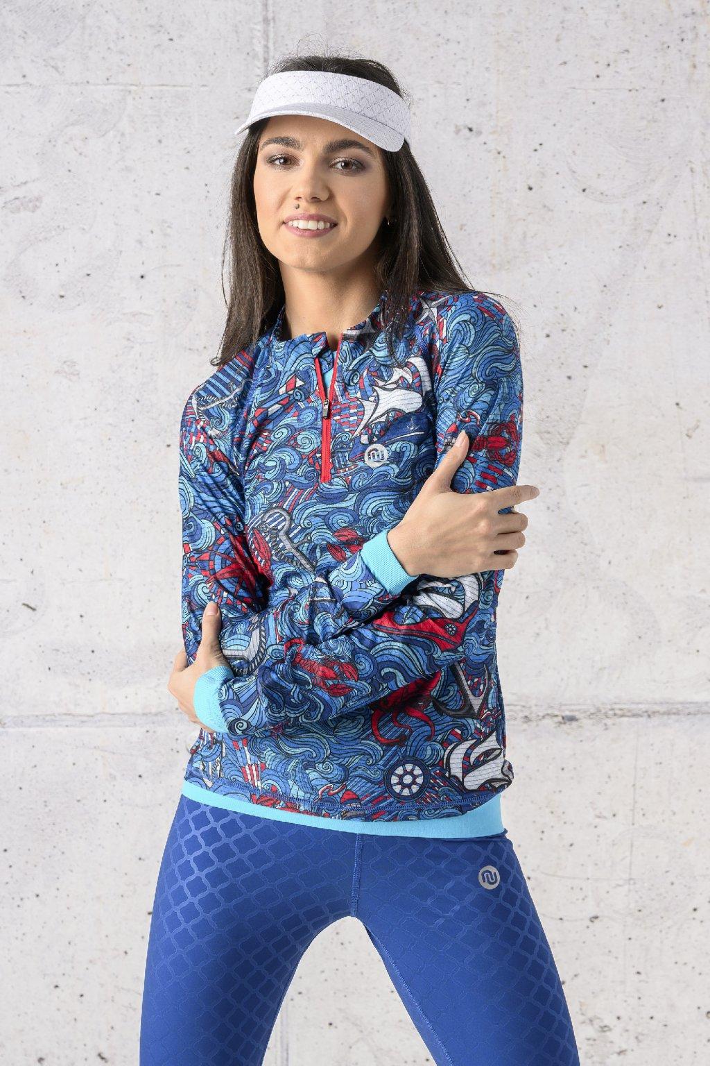Běžecké tričko s dlouhým rukávem carbon KLC 13F1 1