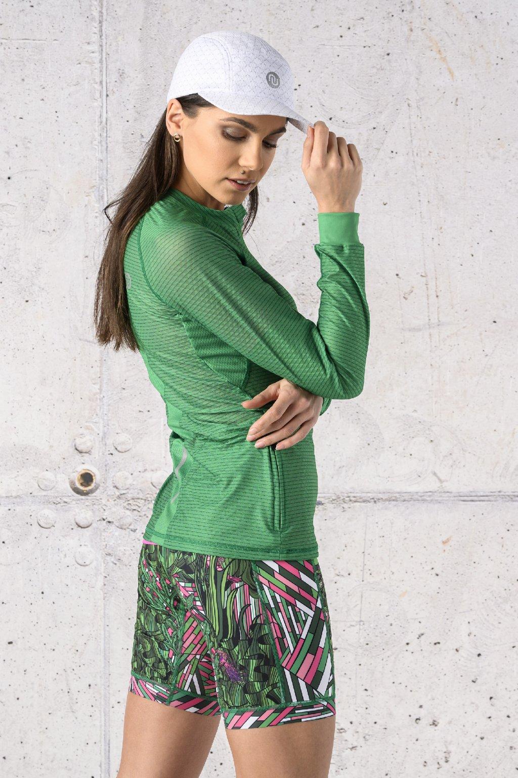 Běžecké tričko s dlouhým rukávem carbon KLC 07 1
