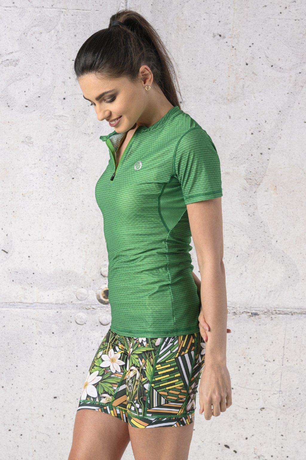 Běžecké tričko carbon KBC 07 1