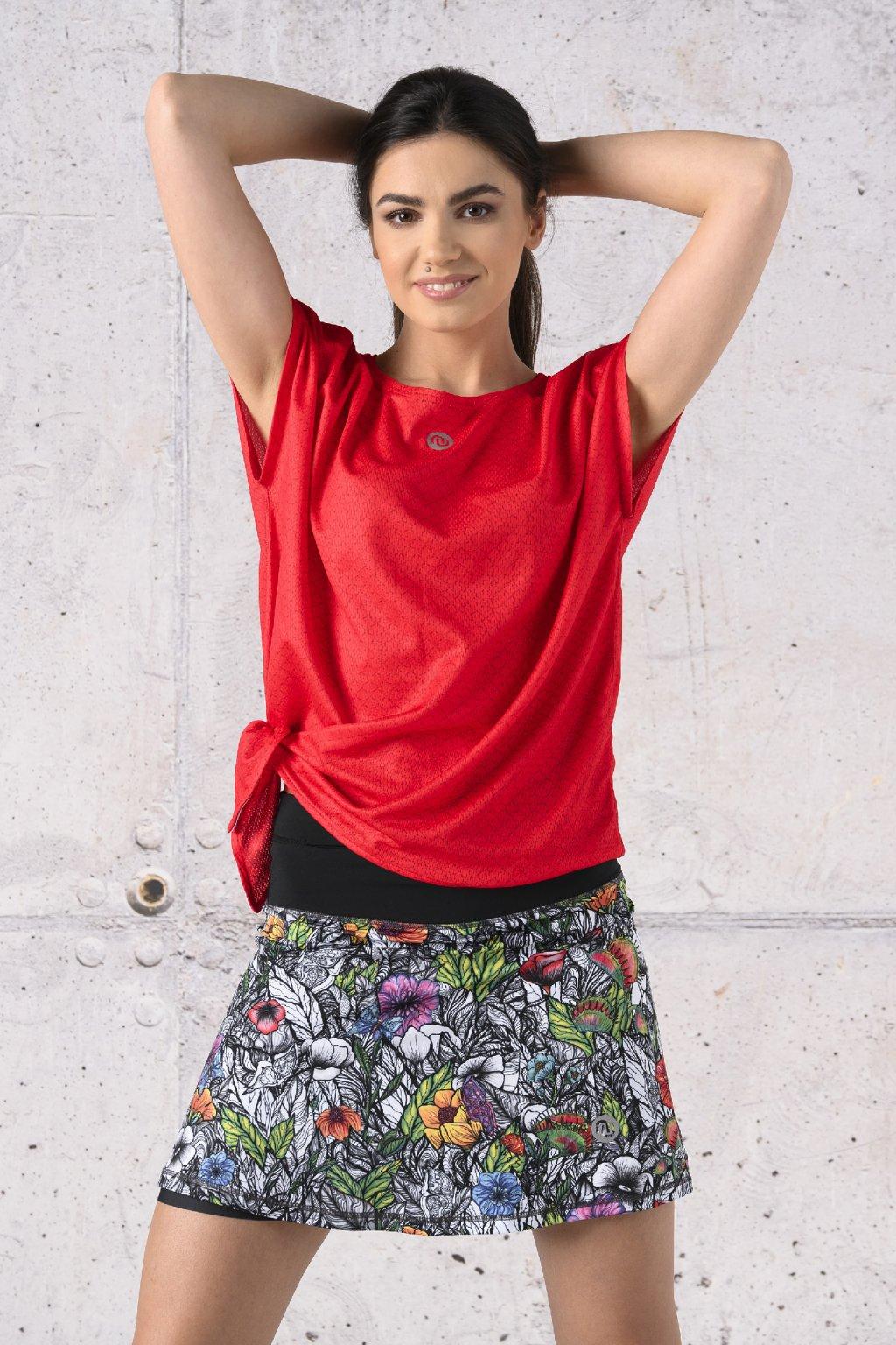 Tričko s vázáním KFW 11X4 1