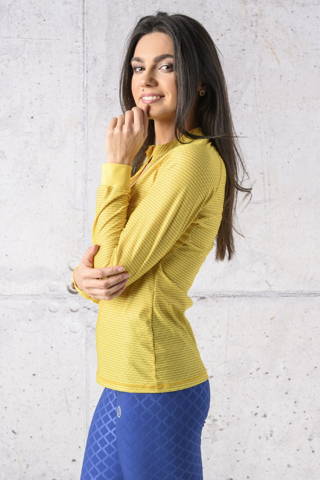 Běžecké tričko s dlouhým rukávem carbon KLC 11 1