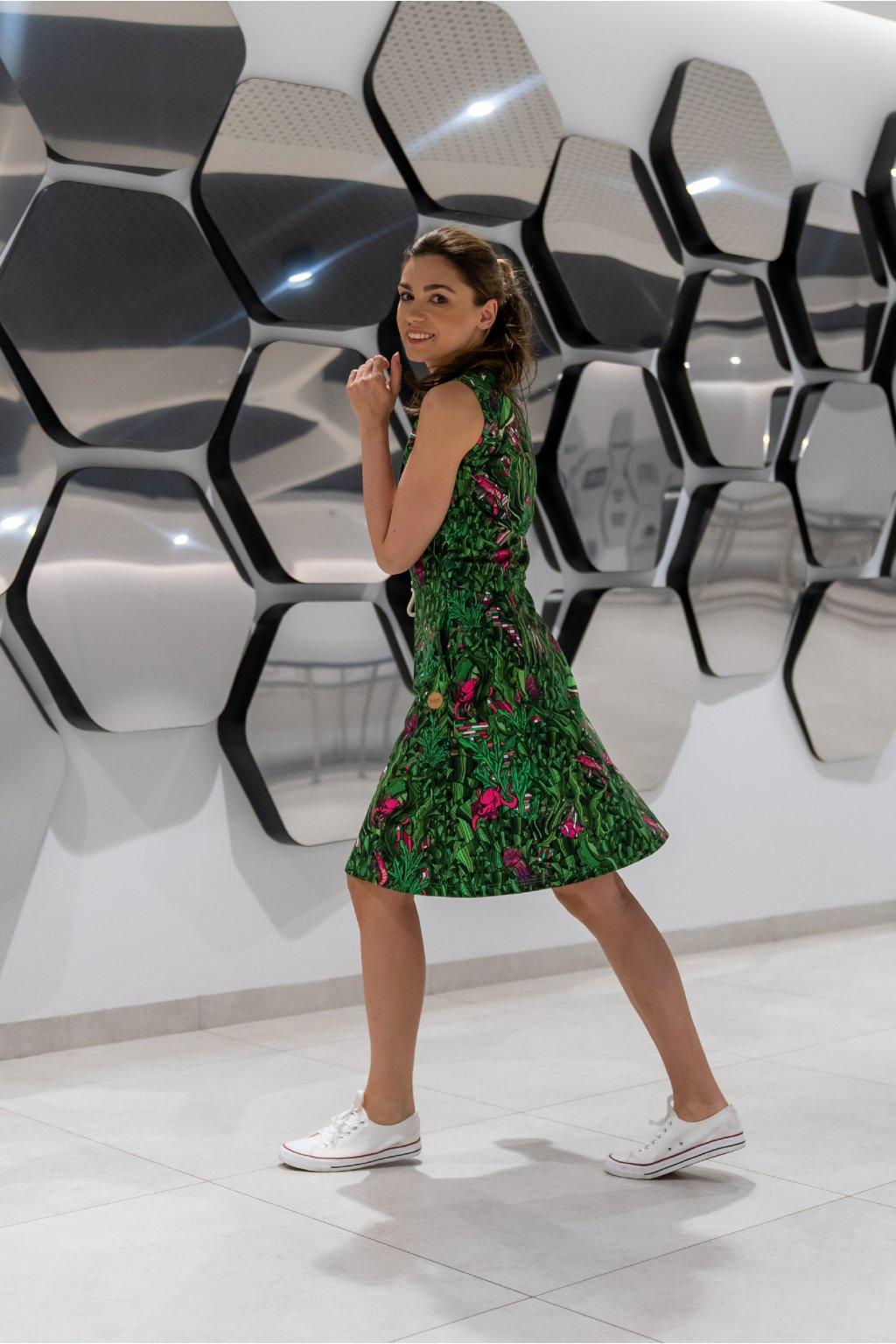 Bavlněné šaty OSBL 13L1 1