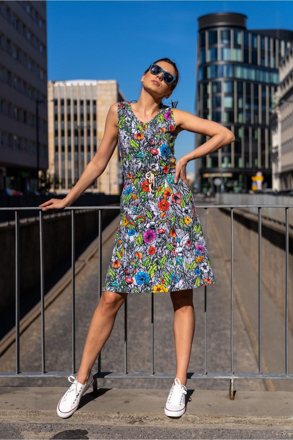 Bavlněné šaty OSBL 13M4 1