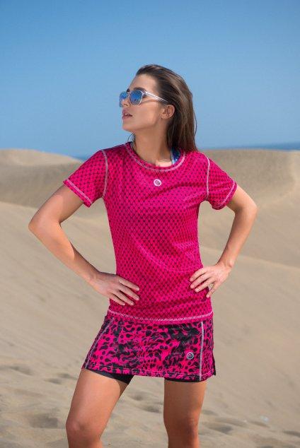 Sportovní sukně se šortkami ultra SRDGL-9K1 - Pink Panther
