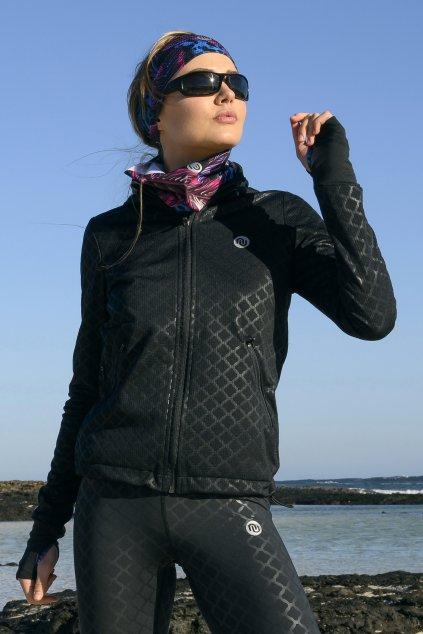Sportovní mikina shiny black hrdk 90 1